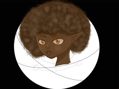 Angazi character design animation illustration