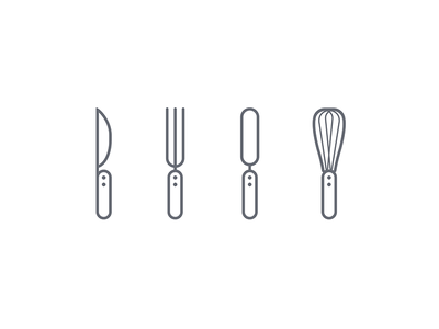 Kitchen utensils icons icon icons kitchen picto pictogram vector icondesign inconography graphic design flat flatdesign