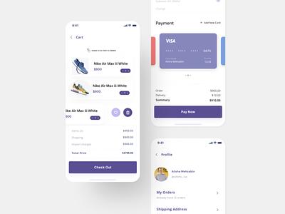Step in shoes ux design ui ux design ui designer shoe app uidesign ui design app