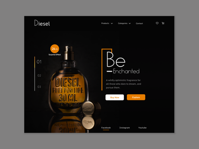 Product Web UI trendy popular shot dark ui ux design interface startup ui product webdesign web home page landing page design website landing page