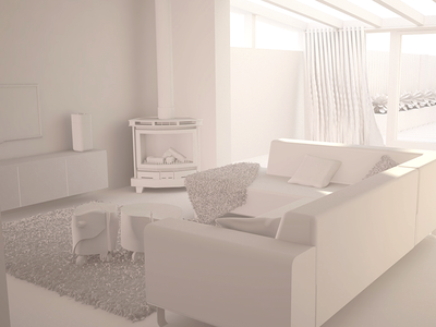 Interior Render Without Mats