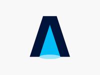 A - Light | Lettermark