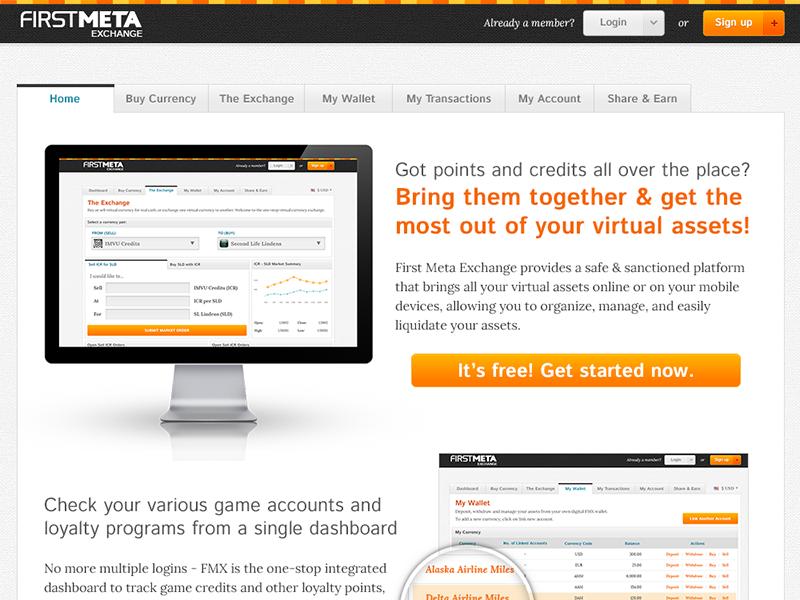 FMX Revamp 2012 web design interface design