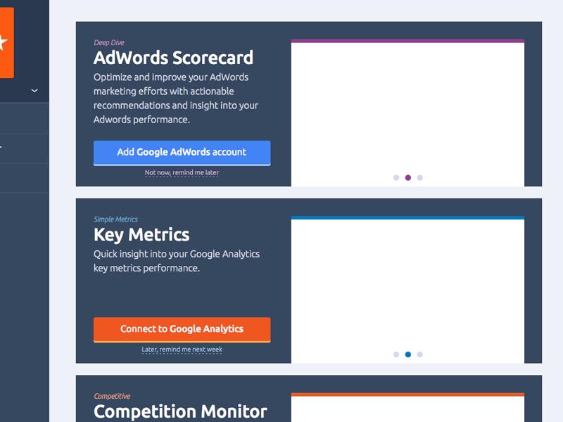 Upselling widgets widget widgets google adwords google analytics