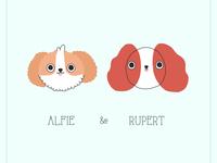 Alfie and Rupert