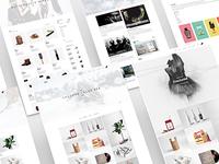 Rex - Minimal WordPress Portfolio Theme white wordpress portfolio photography personal parallax modern minimal creative concept clean black