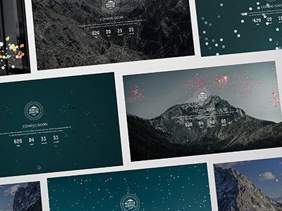 Mountain - Exclusive Coming Soon WordPress Theme under construction responsive parallax one page minimal elegant creative countdown coming soon clean business wordpress