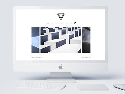 Elysium - Minimal WordPress Portfolio Theme wordpress white portfolio photography personal parallax modern minimal creative concept clean black