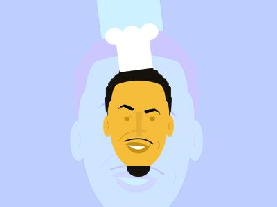 Curry basketball steph nba art vector bay warriors chef curry