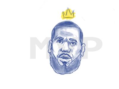 Lebron James allstar. basketball nba adobe photoshop king whip sketch james lebron