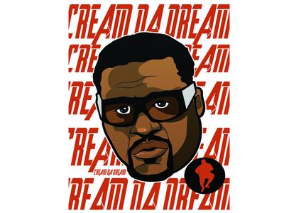 Cream2 character art illustration design adams spice biggums cream nba