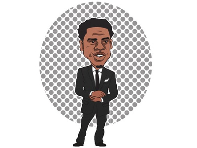 Jigga icon rap illustration character art design jayz