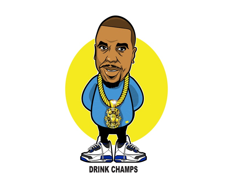 Champs hiphop illustration character design nore champ