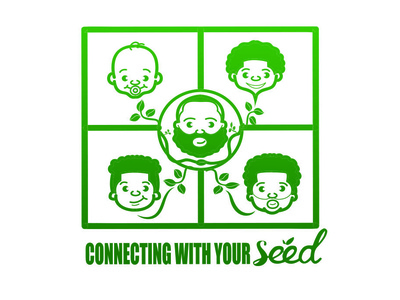 Seed tshirt art vector design seed