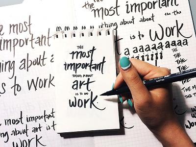 Lettering practice lettering practice showyourwork wip