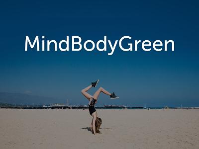 MindBodyGreen logo logo mindbodygreen branding