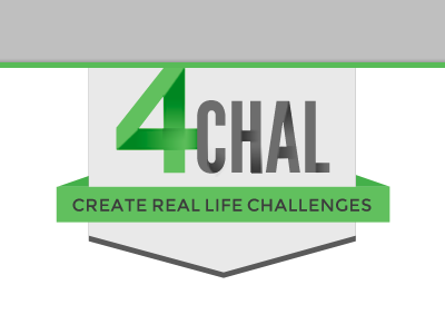 4CHAL - Goodnik Hackathon Project hackathon logo web design banner