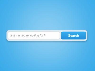 Dribbble searchbar