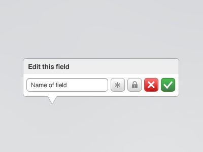 Pop Over popover buttons popup edit field pop over pop up