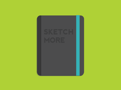 Notebook sketch notebook behance actionjournal flat icon book