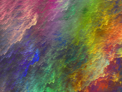 Florid Dust abstract waves colorful saturated hue rainbow texture powder
