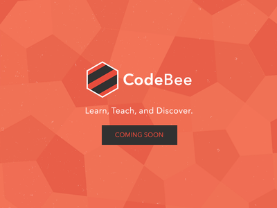 CodeBee Promotional Ad Variation 2 simple ad logo