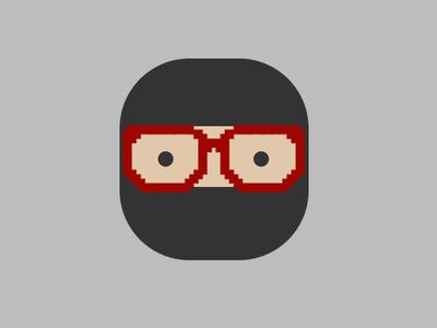 Ninja Icon logo icon ninja