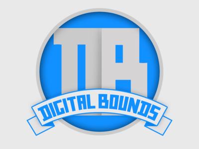 Digital Bounds Logo tech branding logo