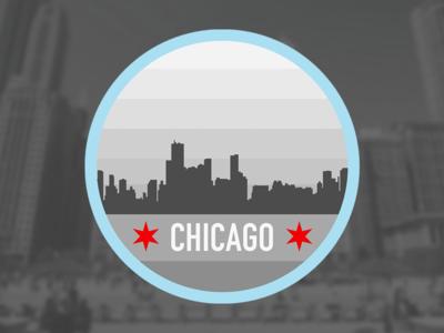 Chicago Badge badge chicago