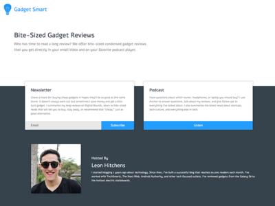 Gadget Smart Website paralax responsive website smart gadget