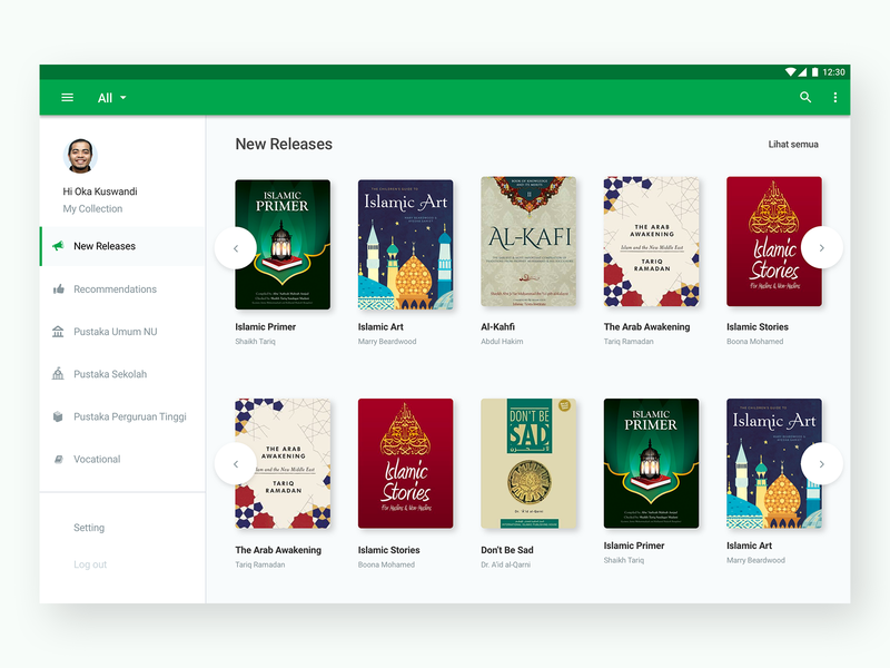 Book Desktop App Concept reader book community platform uiux desktop app bookapp