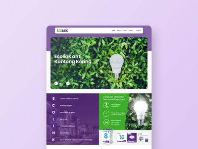 Ecolink Product Launching Event Landing Page event event website product website product web website design web design landing page ux ui website