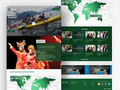 International Islamic Education Council (IIEC) interface design ux ui web design islamic website islamic website school website design landing page wesbite