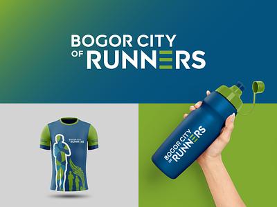 Bogor City of Runners Logo logo mark design logo designer logo mark logotype logo project logo design concept logo concept logo design logo