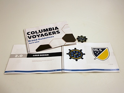 Columbia Voyagers Branding Guidelines