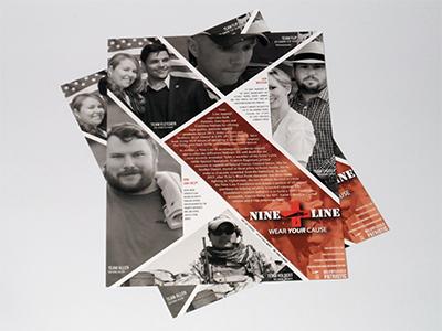 Nine Line Print