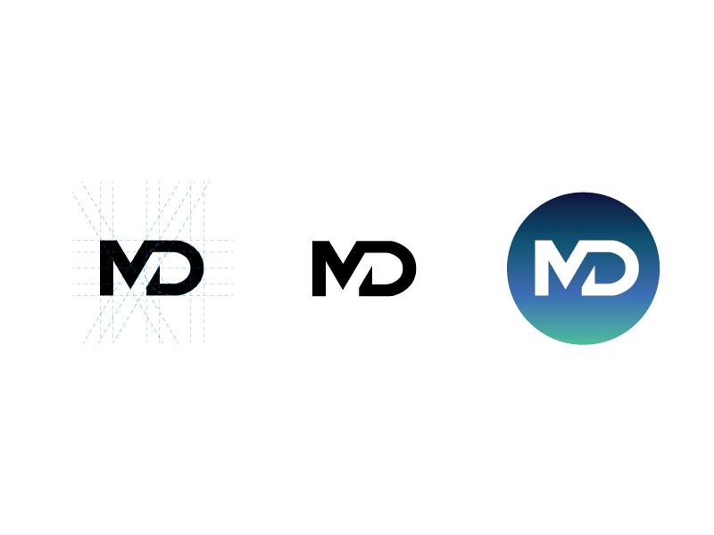 Md Logo Design MD logo by Brian Mitch...