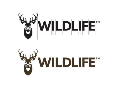 Wildlife  - #ThirtyLogos outdoors deer animal wildlife thirtylogos mark logo grid