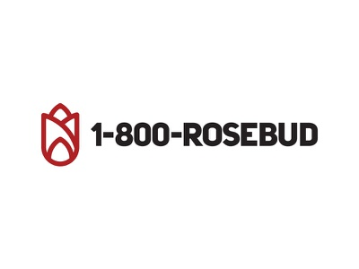 Rosebud  - #ThirtyLogos rose flower thirtylogos mark logo