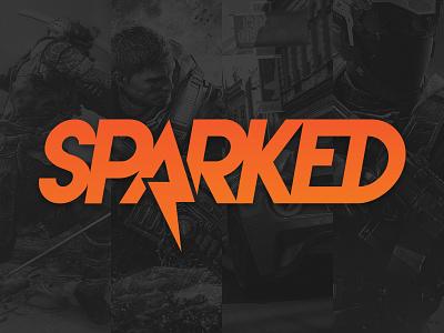 Sparked - #ThirtyLogos esport esports news gaming mlg video games spark design branding mark icon logo