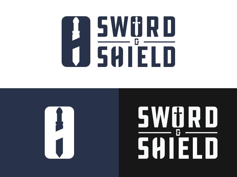 Sword & Shield - #ThirtyLogos thirtylogos lock shield sword security design branding mark icon logo