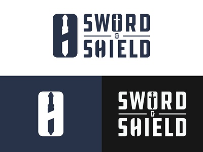Sword & Shield - #ThirtyLogos thirtylogos lock shield sword security design branding mark icon logo