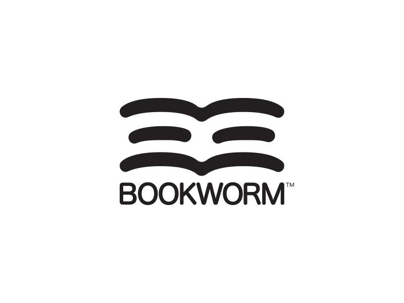 Bookwork - #ThirtyLogos thirtylogos worm book design branding mark icon logo