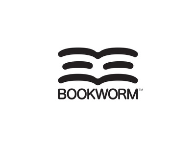 Bookwork - #ThirtyLogos thirtylogos worm book design branding mark icon logo