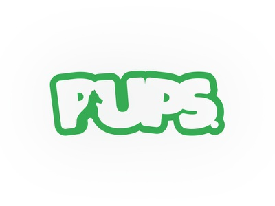 Pups - #ThirtyLogos thirtylogos animal dog design branding mark icon logo