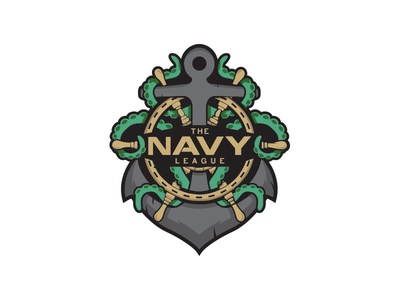 Navy League Esports Logo
