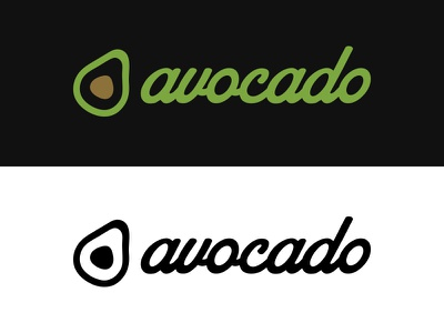 Avocado - #ThirtyLogos avocado food vegetable design branding mark icon logo