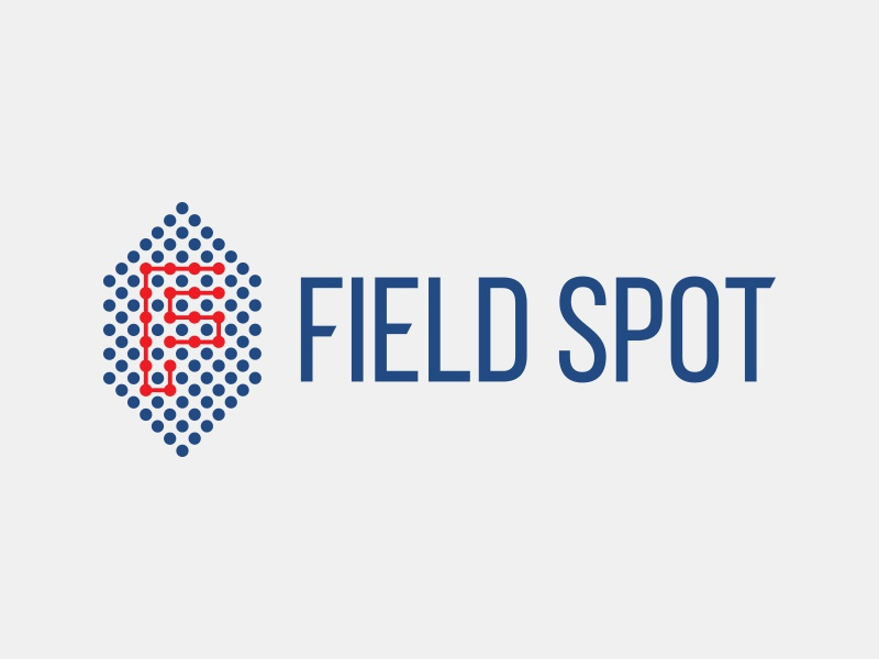 Field Spot - #ThirtyLogos football dots design mark icon logo