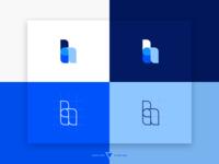 """h"" Word Logo"