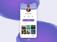 Photography User Profile - Daily UI 006